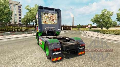 Astérix peau pour Scania camion pour Euro Truck Simulator 2