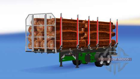 Camion Semi-remorque pour American Truck Simulator