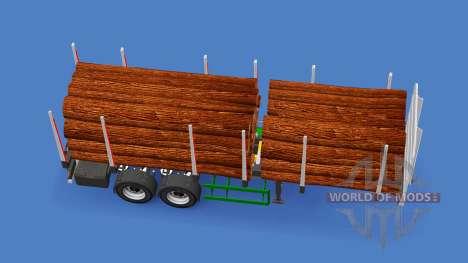 Semi-trailer truck für American Truck Simulator