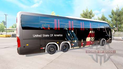 La peau etats-unis sur le tracteur Mascarello Ro pour American Truck Simulator