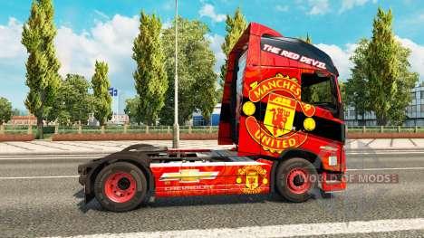 Manchester United peau pour Volvo camion pour Euro Truck Simulator 2
