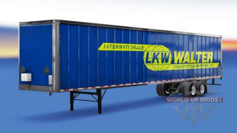 All-metal semi-CAMION Walter pour American Truck Simulator