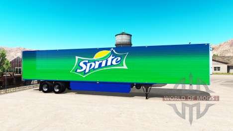 International de peaux pour les remorques pour American Truck Simulator
