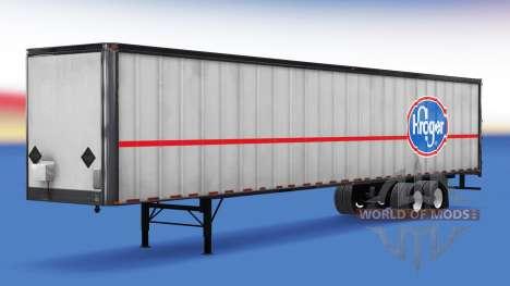 De tous les métaux semi-remorque. pour American Truck Simulator