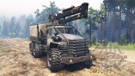 Ural-4320-10 Toungouses pour Spin Tires
