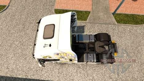 Les Sbires de la peau pour Iveco tracteur pour Euro Truck Simulator 2