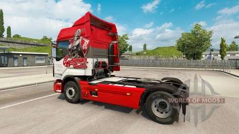 Peaux tchèque de la Bière camion Renault pour Euro Truck Simulator 2