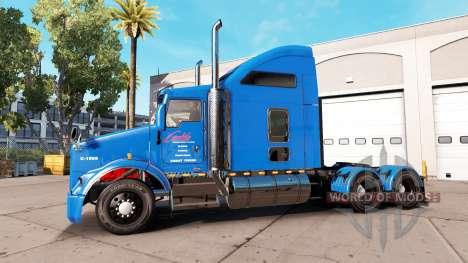 Carlile de la peau pour Kenworth T800 camion pour American Truck Simulator