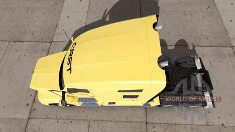 La peau CRST sur camion Kenworth pour American Truck Simulator