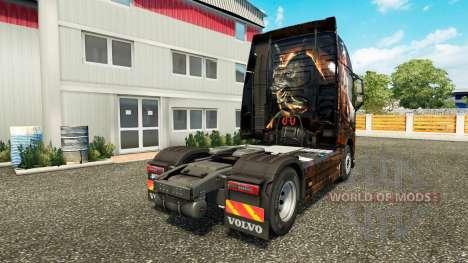 L'egypte Reine de la peau pour Volvo camion pour Euro Truck Simulator 2