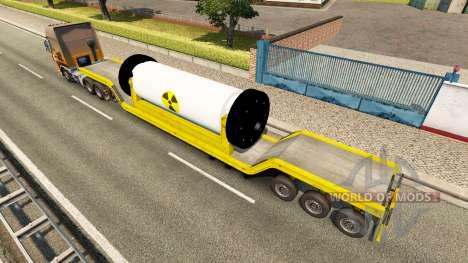 Tral avec un réacteur nucléaire pour Euro Truck Simulator 2