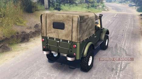 GAZ-69 für Spin Tires