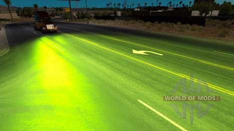 Stauden xenons für American Truck Simulator
