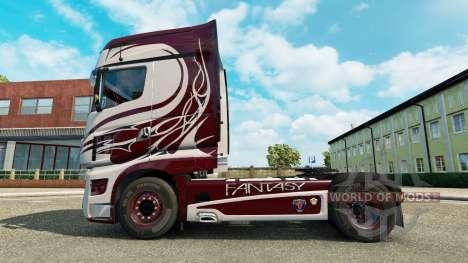 La fantaisie de la peau pour Scania camion R700 pour Euro Truck Simulator 2