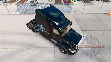 Peau de Fer sur la ligne d'Horizon de camion Pet pour American Truck Simulator