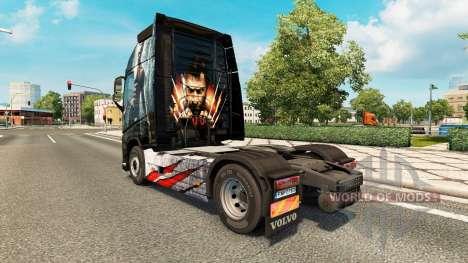 Haut Wolverine für Volvo-LKW für Euro Truck Simulator 2