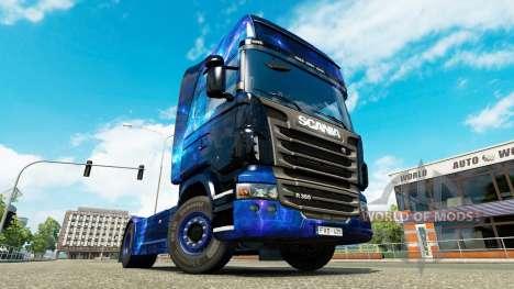 Cool l'Espace de la peau pour le camion Scania pour Euro Truck Simulator 2