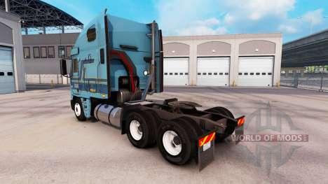 La peau Werner au camion Freightliner Argosy pour American Truck Simulator