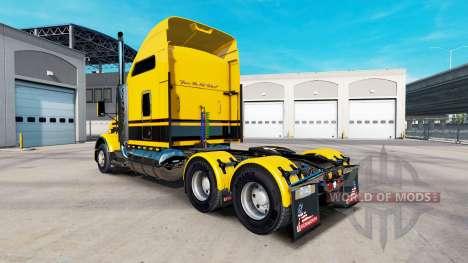 Haut Streifen v5.0 Traktor Kenworth T800 für American Truck Simulator
