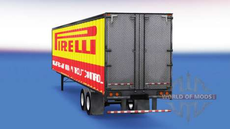 All-Metall-semi-Pirelli für American Truck Simulator