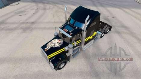 Haut Nacht auf dem LKW-Kenworth W900 für American Truck Simulator
