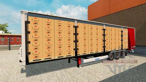 Anhänger Krone Vorhang für Euro Truck Simulator 2