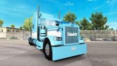 La peau de la Lumière Bleu-Blanc pour le camion