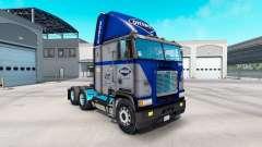 Haut Overnite auf LKW Freightliner FLB