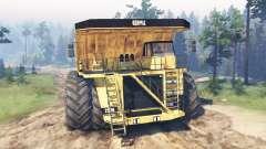 Dump truck 8x8