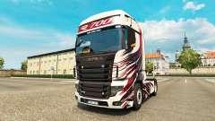 MT Design de la peau pour Scania camion R700