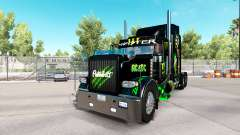 Monster Energy skin für den truck-Peterbilt 389