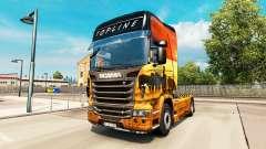 Haut Safari für Scania-LKW