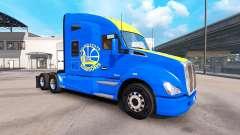 La peau des Golden State Warriors sur tracteur K