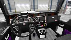 Lila interior-Kenworth W900