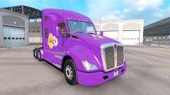 La peau des Los Angeles Lakers sur le tracteur K