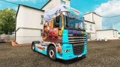 La peau Voitures v2.0 camion DAF