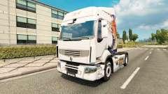 Haut Koi für Traktor Renault