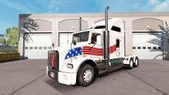Haut USA auf Traktor Kenworth T800