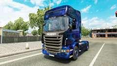 Coole Space-skin für die Scania LKW
