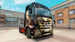 Luis Royo Haut für Mercedes Benz LKW