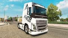 La peau Adidas pour Volvo camion