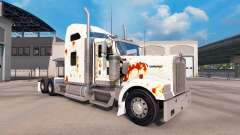 La peau de Rouille sur le camion Kenworth W900