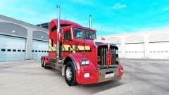 La peau Rayures v2.0 tracteur Kenworth T800