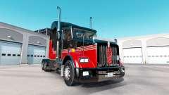 La peau Rayures v3.0 tracteur Kenworth T800