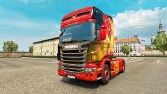 Haut Manchester United für Zugmaschine Scania