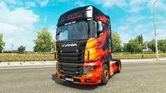 Haut Cool Fire truck Scania R700
