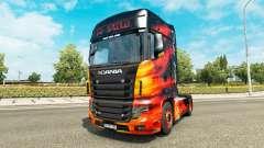 La peau Fraîche camion de pompier Scania R700