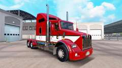 La peau Rayures v4.0 tracteur Kenworth T800
