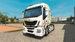Les Sbires de la peau pour Iveco tracteur