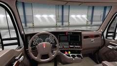 Luxus braune Innenausstattung Kenworth T680